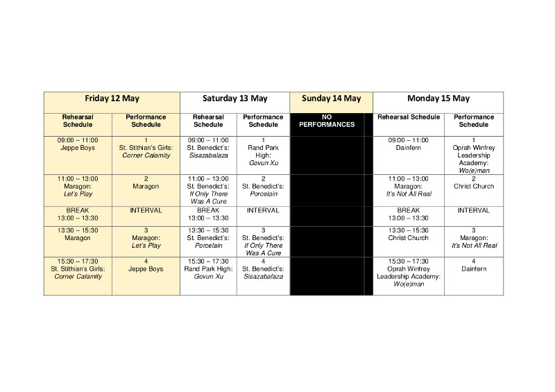 FEDA SCHEDULE page 3