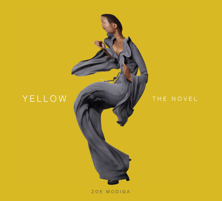 Yellow the novel poster