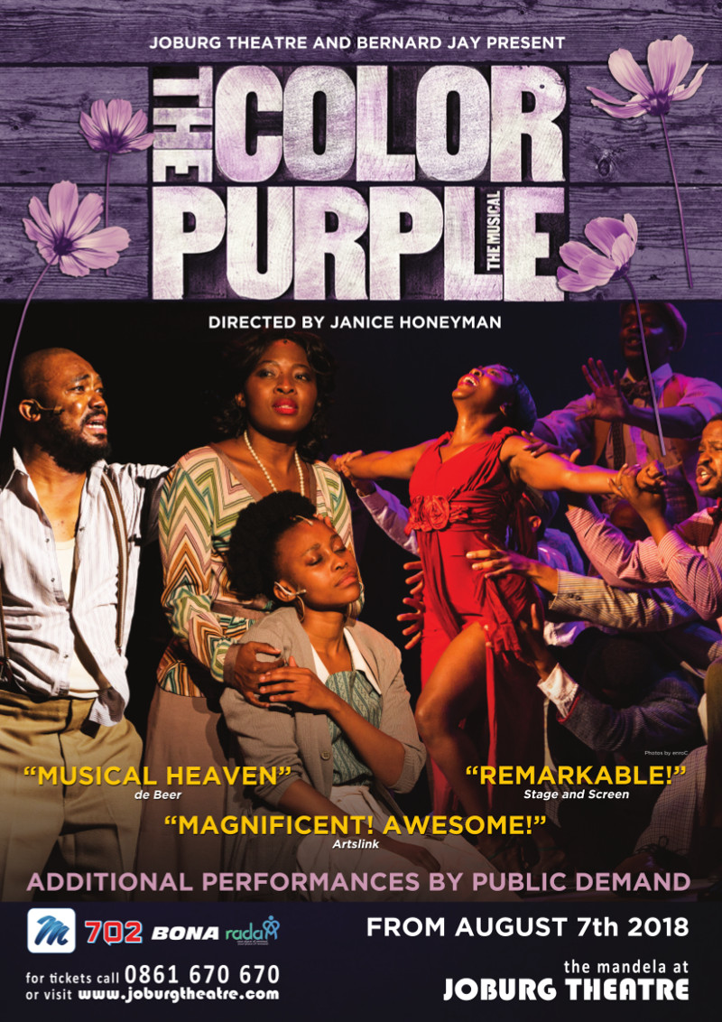 THE COLOR PURPLE temp poster Aug