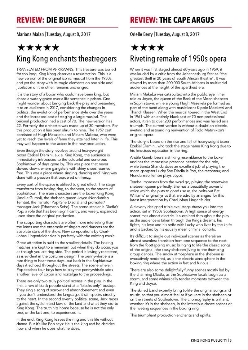 King Kong Press ReviewsPg5