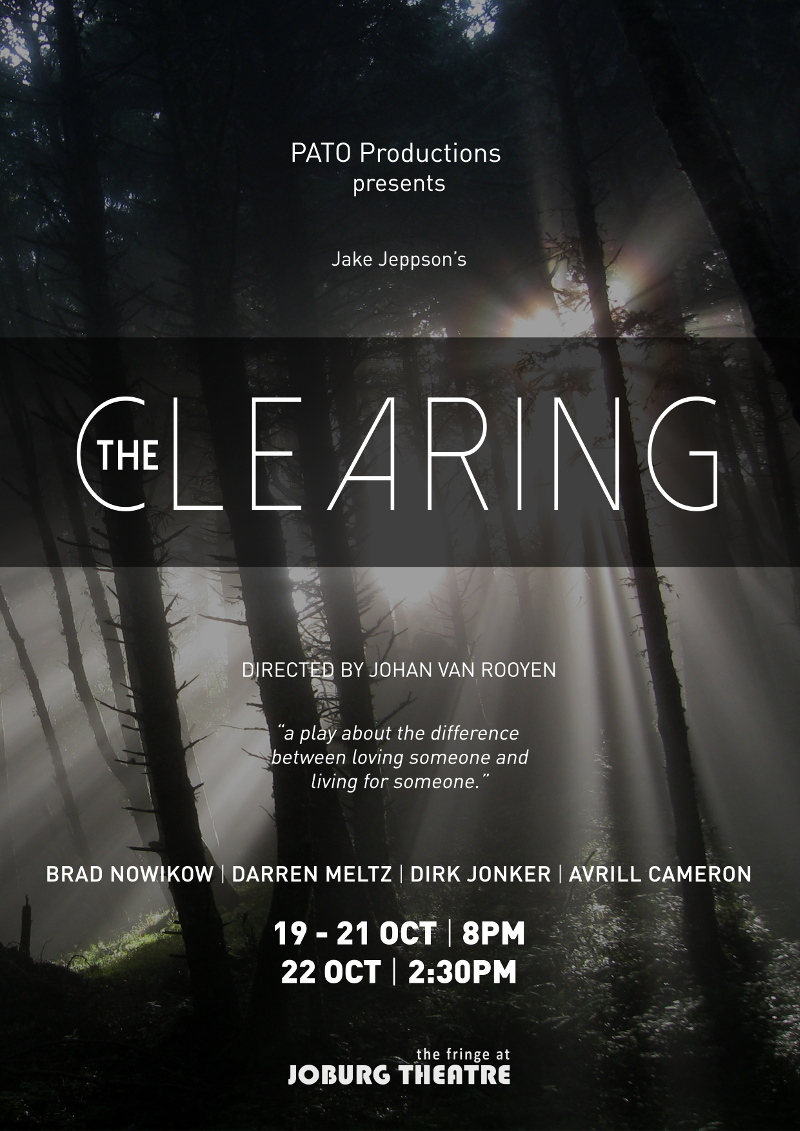 The Clearing Poster JHB FRINGE