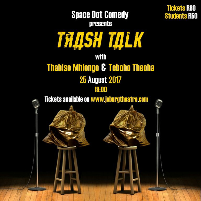 space dot comedy trash talk poster