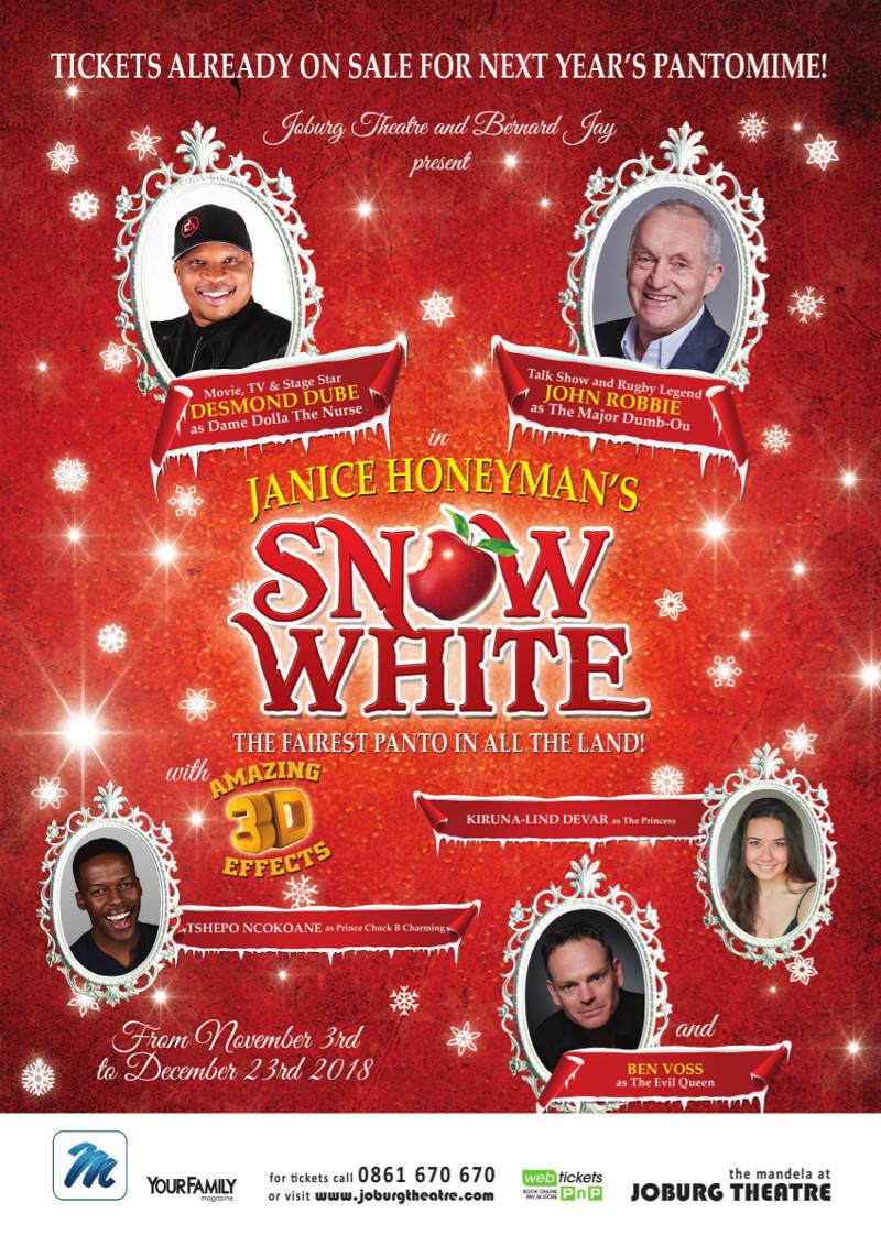 Snow White A4 Intro Poster