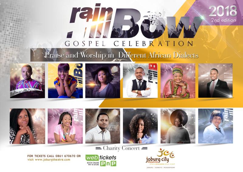 Rainbow gospel Poster