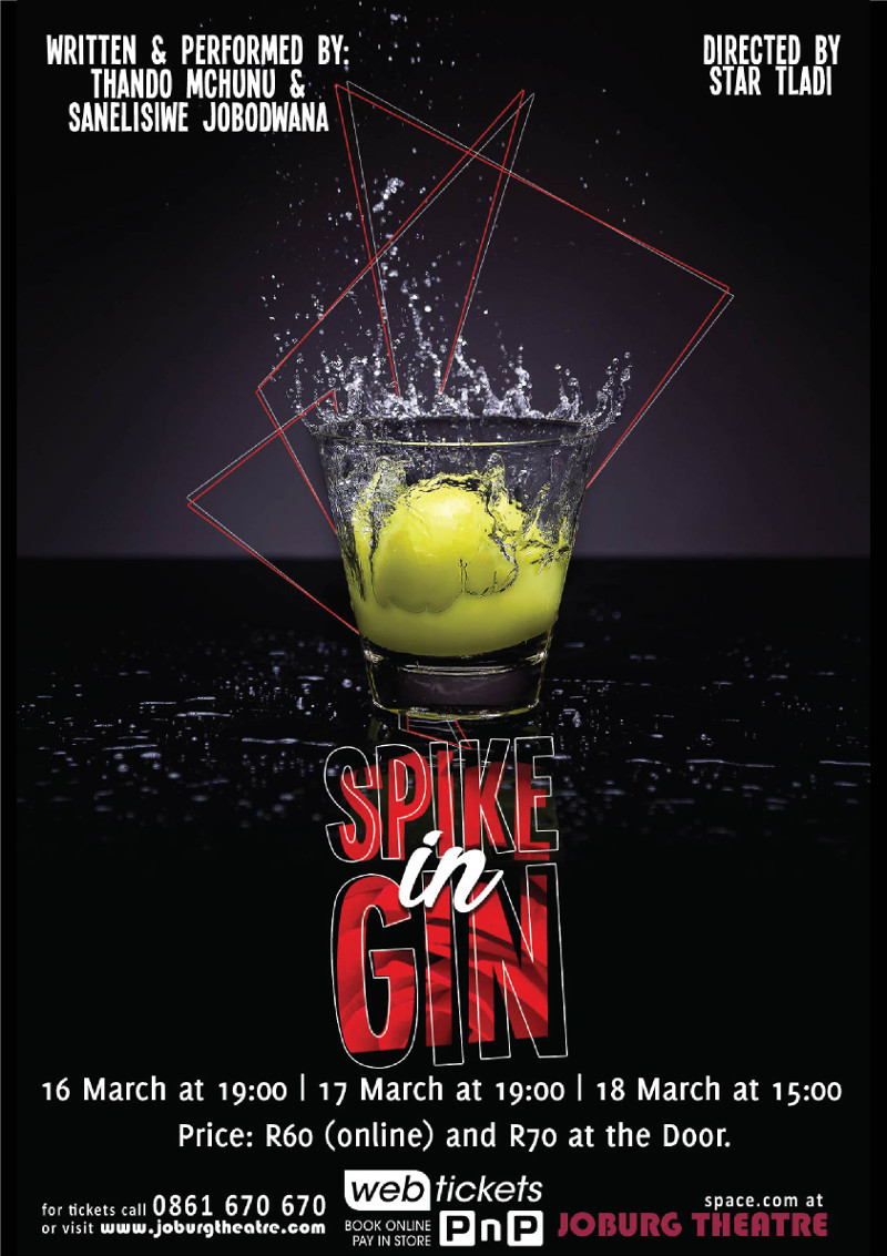 spike in gin poster