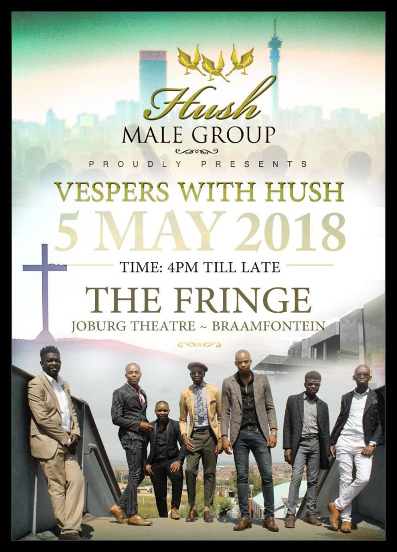 vespers with hush poster